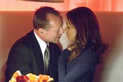 Bruce Willis and Halle Berry