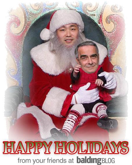 Happy Holidays from BaldingBlog