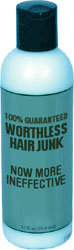 Worthless hair products