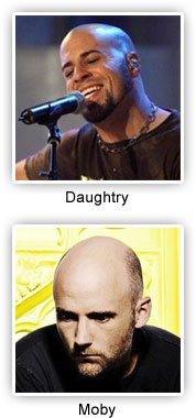 Chris Daughtry and Moby