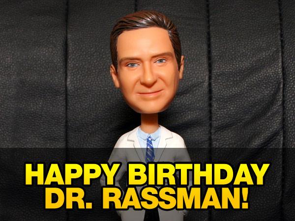 Dr Rassman Birthday